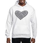 Ten Commandments - Decalogue - B Hooded Sweatshirt