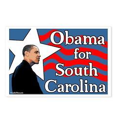 Obama for South Carolina Postcards