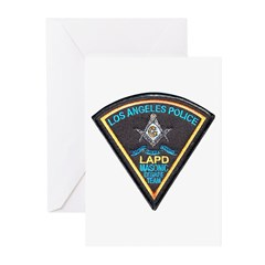 L.A. Police Mason Greeting Cards (Pk of 20)