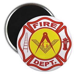 Masonic Fire Department Magnet