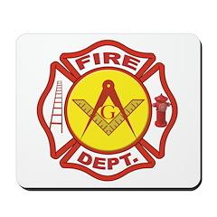 Masonic Fire Department Mousepad