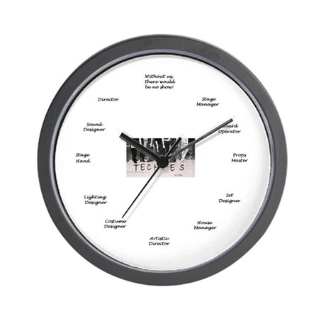 Techies: The Musical! Wall Clock