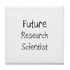 Future Research Scientist Tile Coaster
