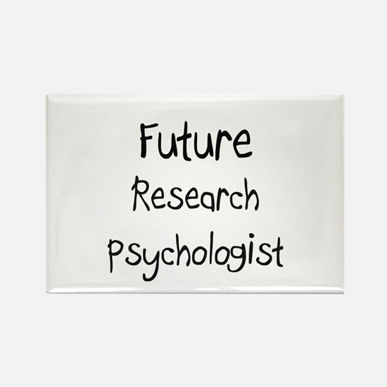 Future Research Psychologist Rectangle Magnet