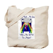 God Made Me Gay Tote Bag