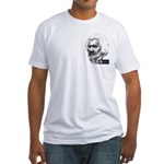 Frederick Douglass Fitted T-Shirt