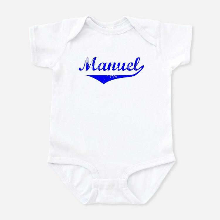 Manuel Vintage (Blue) Infant Bodysuit