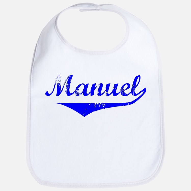 Manuel Vintage (Blue) Bib