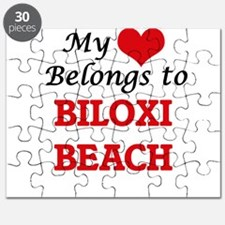 My Heart Belongs to Biloxi Beach Mississipp Puzzle