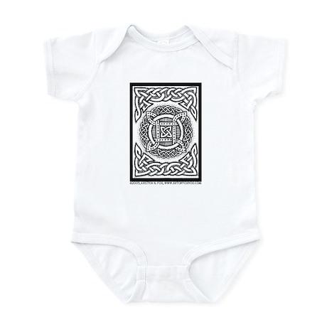 Celtic Four Square Circle Infant Bodysuit