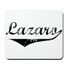 Lazaro Vintage (Black) Mousepad