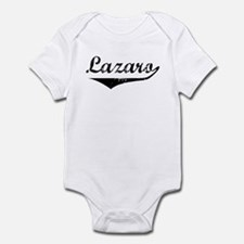 Lazaro Vintage (Black) Infant Bodysuit