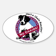 Start a Chain Reaction Oval Decal