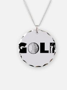 GOLF BALLS SWINGER SWING GOL Necklace