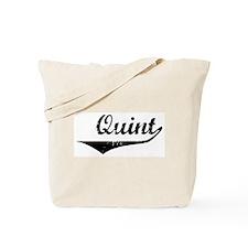 Quint Vintage (Black) Tote Bag