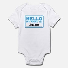 Hello My Name Is: Jason - Infant Bodysuit