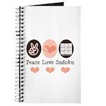Peace Love Sudoku Journal