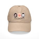 Peace Love Sudoku Cap