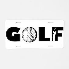 GOLF BALLS SWINGER SWING GO Aluminum License Plate