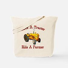 Ride a Farmer Tote Bag