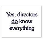 Yes, Directors Know Everything Small Poster
