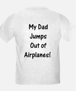 T-Shirt Dad Jumps Out of Planes