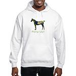 Pony Up! Hooded Sweatshirt - earth horse hoodie