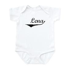 Lena Vintage (Black) Infant Bodysuit