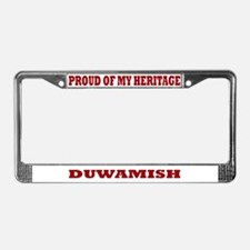 Proud of My Duwamish Heritage License Plate Frame