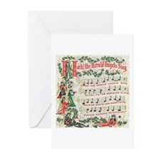 Hark! The Herald Angels Sing Greeting Cards (Pk of