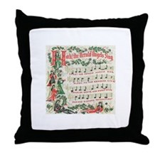 Hark! The Herald Angels Sing Throw Pillow