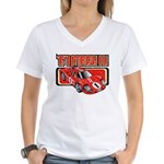 1967 Ford Mark IV Women's V-Neck T-Shirt