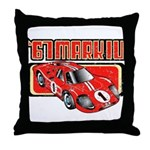 1967 Ford Mark IV Throw Pillow