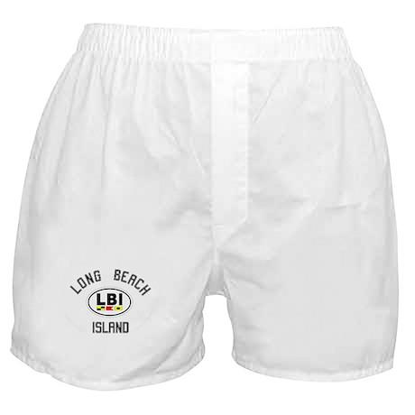 LBI - Long Beach Island Boxer Shorts