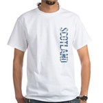 Scotland Stamp White T-Shirt