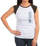 Scotland Stamp Women's Cap Sleeve T-Shirt