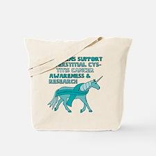 Unicorns Support Interstitial Cystitis Ca Tote Bag