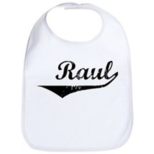 Raul Vintage (Black) Bib