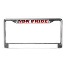 NDN Pride License Plate Frame