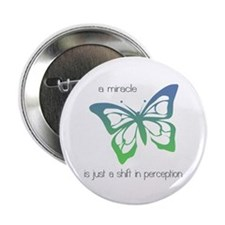 "Miracle - Butterfly - 2.25"" Button"