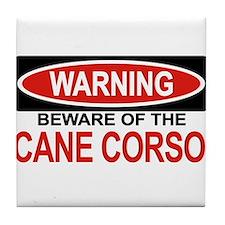 CANE CORSO Tile Coaster