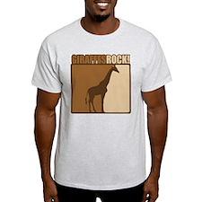Giraffes Rocks! T-Shirt