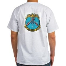 Sharp Carbonero Ash Grey T-Shirt