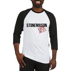 Off Duty Stonemason Baseball Jersey