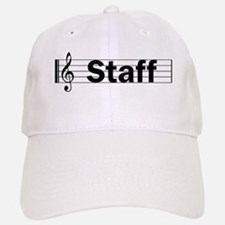Music Staff Baseball Baseball Cap