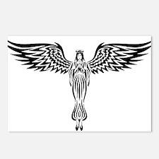 Tribal Angel Postcards (Package of 8)