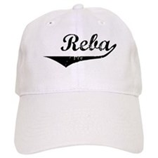Reba Vintage (Black) Baseball Cap