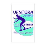 C Street Noseriding Contest Rectangle Sticker