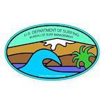 USDS Oval Sticker