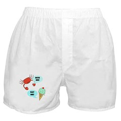 EAT ME BITE ME Boxer Shorts